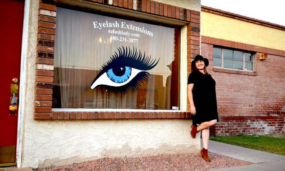 Meet Natalie Clark Of Az Lash Lady In Chandler Voyagephoenix Phoenix