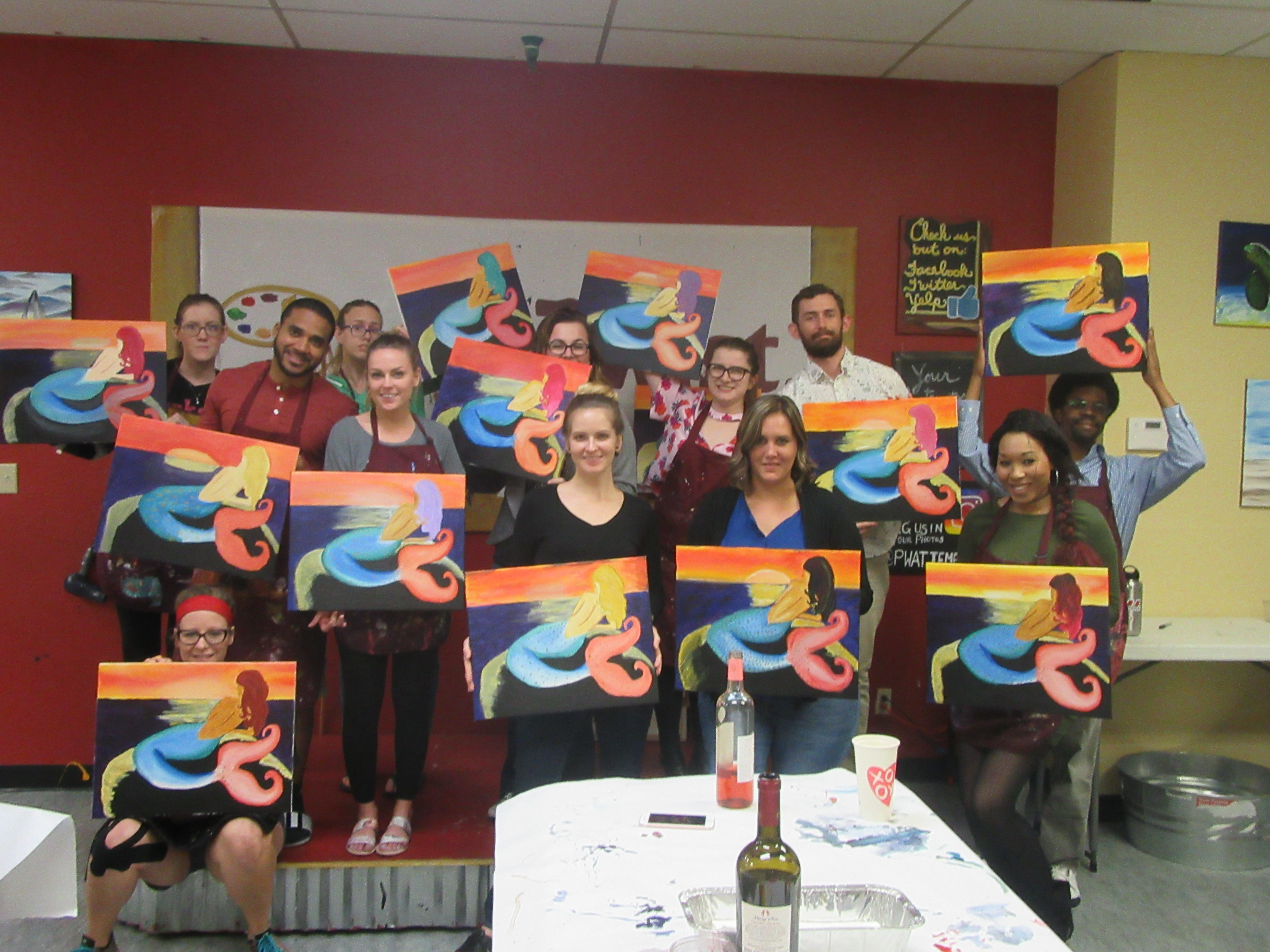 Meet stormy nesbit of painting with a twist tempe az for Painting with a twist arizona