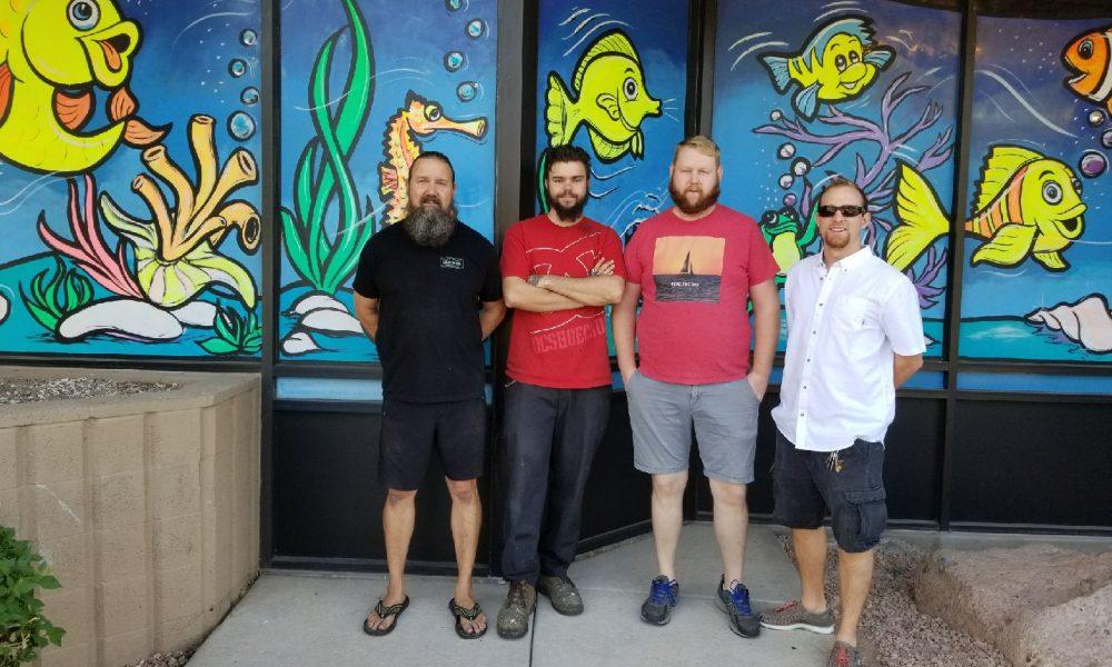 Meet chris kline of discount aquarium fish and reef in for Discount aquarium fish and reef